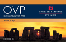 Overseas Visitor Pass - English Hetritae Pass